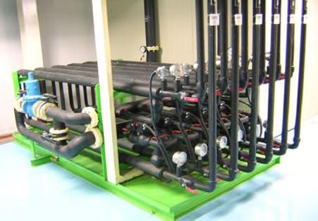 도료 공급 설비 (Heat Exchanger)