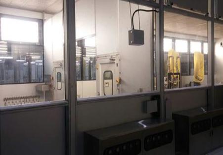 액체 도장 설비 시공 사례(멕시코 &모비스)